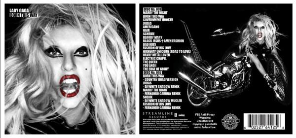 Lady Gaga – Born This Way tracklist – The Jukepop